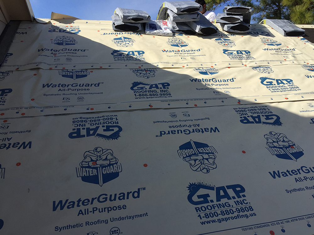 GAP WaterGuard All Purpose. GAP WaterGuard All Purpose Synthetic Roofing  Underlayment ...